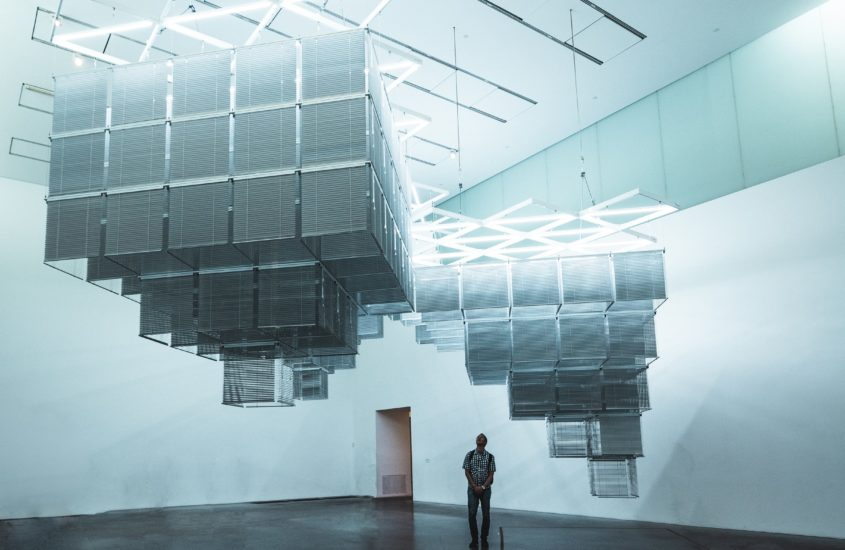 Travel alone contemporary art - museum
