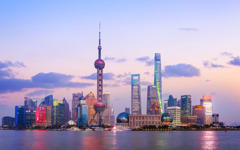 2021 destinations - Shanghai