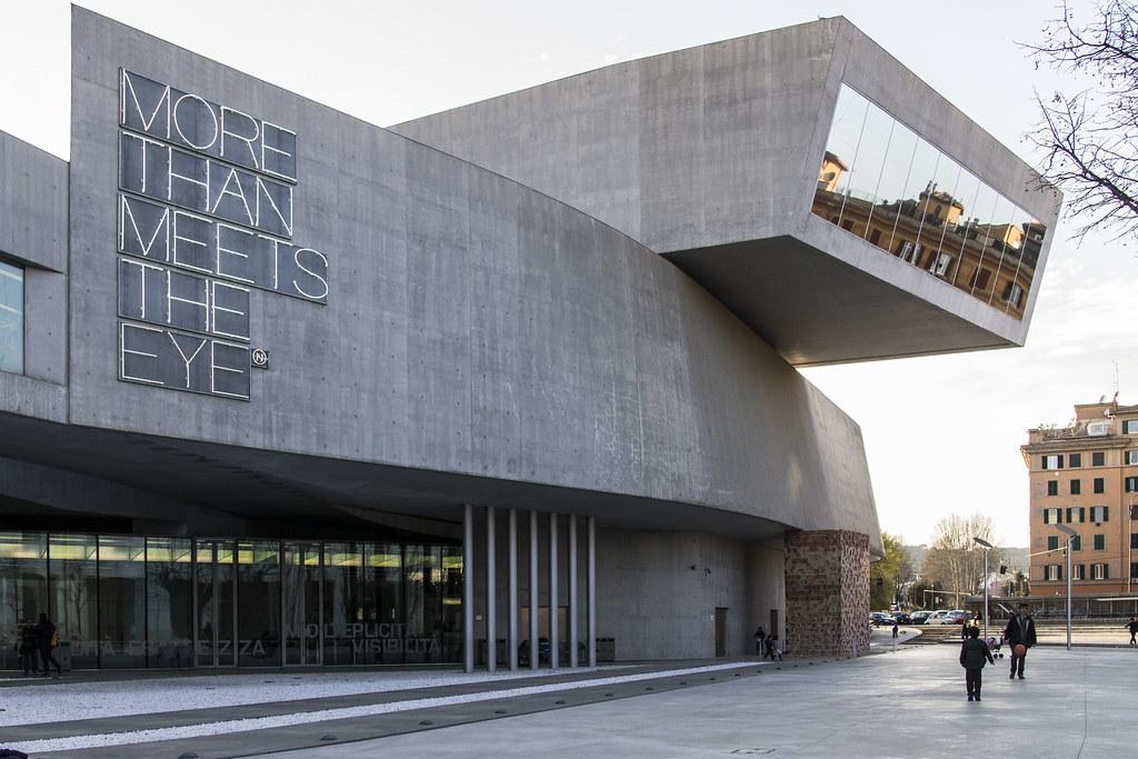 Contemporary Art Rome - MAXXI Museum