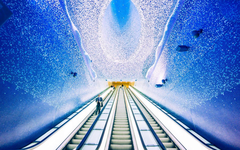 contemporary art Naples - Metro Toledo