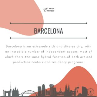 Save this post for your future travel planning!  . If you are looking for contemporary art centers in Barcelona, look no further. Here are 4 great options to add to your travel itinerary. @fabraicoats  @esproncedabcn  @b.murals  . Do you know any other place I should check out?  Let me know in the comments, I would love to hear from you!  . Find out more about Barcelona via the link in bio or visit our website for more travel tips. . #ArtsyTravels #bcn #Barcelonaart #BarcelonaSpain